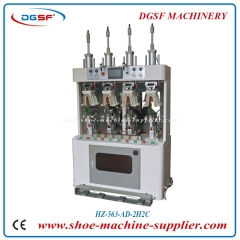PLC Double cold and double hot 4 airbag type counter moulding machine